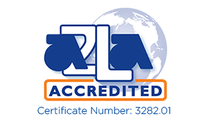 2L Accredited Certificate Number 3282.01