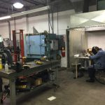 machining and fabrication testing procedures.